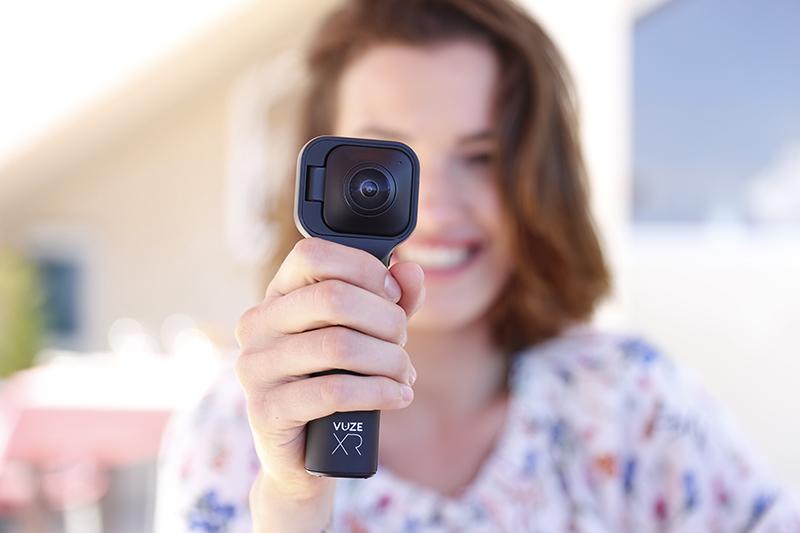 Vuze XR: una cámara – dos aplicaciones